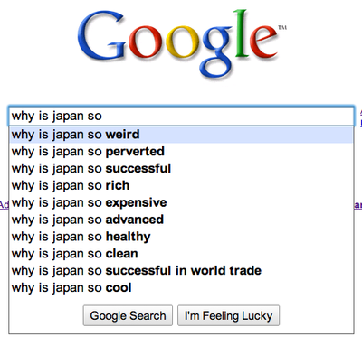 people weird are Why so japanese